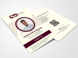 ID card design for TEE-AY-AY