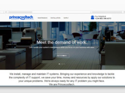 Princecooltech home page