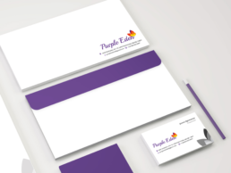 Purple eden Identity design